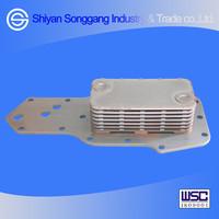 Dongfeng Truck DFL4251 DFL3251 Diesel Engine Parts 6D102 Oil Cooler Core 3957544