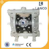 Lanco brand Air operated pneumatic solvent diaphragm pump