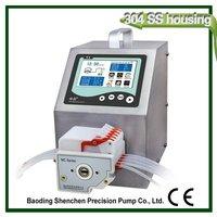 Adjustable best quality cheap liquid peristaltic pump dispenser