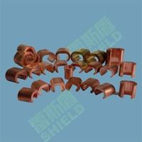 Copper C crimp connector/ C cable clamp for sale