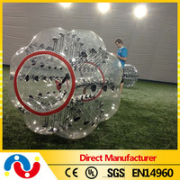 Pvc/tpu Inflatable bubble soccer, Inflatable human bubble ball soccer bubble, bubble football for Adult