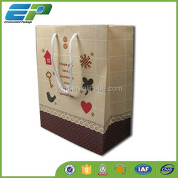 Different Colors Custom Paper Bread Bag for Gift