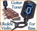 нет ET-33 качество бестселлером мини ЖК-цифровой гитарный тюнер, акустическая гитара тюнер