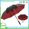 SSL eco-friendly promotional straight golf umbrella design