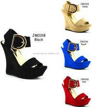 High wedge women comfortable and sexy high heel increasing women platform shoes (JM-0318)