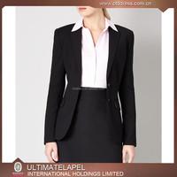 High quality woolen women's cheap bespoke suits