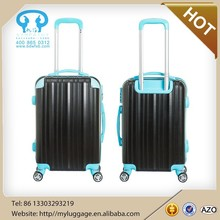 New product designer 20/24/28 inch Hot sale woven material luggage set /wheeled suitcase/travel bag with trolley