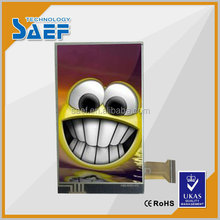 portrait type WVGA 480x800 IPS phone LCD panel lcd touch screen