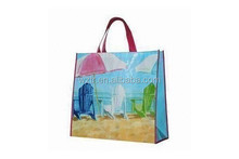 wonderful design !!usable newest pp woven tote bag for shopping