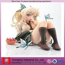 Custom Anime sex toys for female , japanese sex cartoon nude girl resin figure