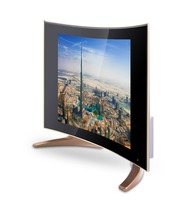 Curved Glass and Flat LED Screen LED TV 19 Inch ATV television Curved TV