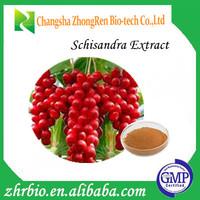 Schisandra Berries P.E Magnolia-vine Extract schisandra extract Deoxyschizandrin1%HPLC