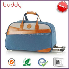 2015 China factory best selling nylon trolley bag