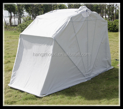 oxford/polyester/pvc& non-woven fabric innovative motorcycle tent cover,motocycle tent at factory price