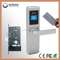 China Free Hotel Software card access NEW hotel door lock system