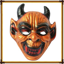 A Halloween party mask grisly ox horn ball head props devil masks