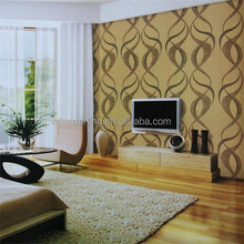 pvc wallcovering, wallpaper/wall paper modern for home walls