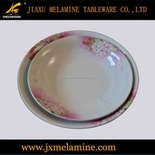 melamine round soup plate
