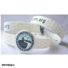 White Color Silicone Wrist Watch for Sport Event