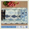 China de fábrica personalizada jacquard juegos de toallas de algodón