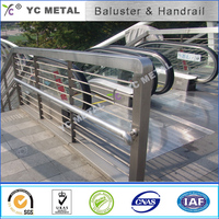 304 Stainless Steel Baluster handrail of stairs -YC Metal