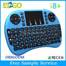 B2GO Mini i8 2.4G with Touchpad Mini Wireless Keyboard For Smart TV