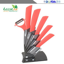 New product promotion 6 woolly ABS zirconia multi-functional ceramic knife kitchen supplies