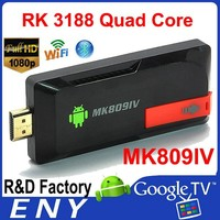 Fatory Price Quad Core XBMC Android 4.4 Kitkat OS Mini PC Android Miracast Rockchip Dongle