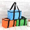 Custom high quality PP laminated picnic non woven+Aluminum foil+PVC lining cooler/ice bag