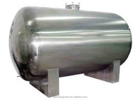 Good quality stainless steel horizontal type anti-corrosive storage equipment/tank with different model