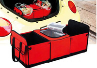 600D/PVC,170T pu car organizer car trunk organizer