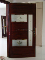 entry / interior wood door with caming glass