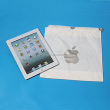plastic computer packaging drawstring bag with phone
