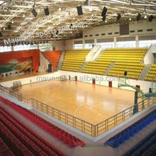 Inexpensive sports pvc floor wooden surface for basketball