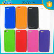DIY silicone cross stitch phone case for iphone 5