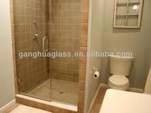 Brass Walk-in Hinge Swing Shower Bath Screen