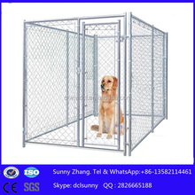 2015hot sale 10X10X6ft US/Canada/AU chain link outdoor large dog run kennel/dog cage