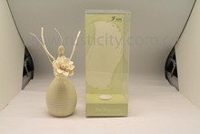 Aroma Feature Wooden Scents Air Freshener Ceramic Reed Diffuser