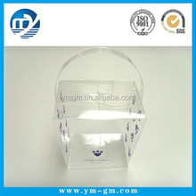 2015 Alibaba Custom Square Clear Acetate Favor Box