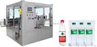 Hot Melt Glue Labeling Machine for Pure Water Bottles