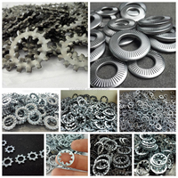 JUNDA METAL toothed lock washer series internal and external conical lock washers