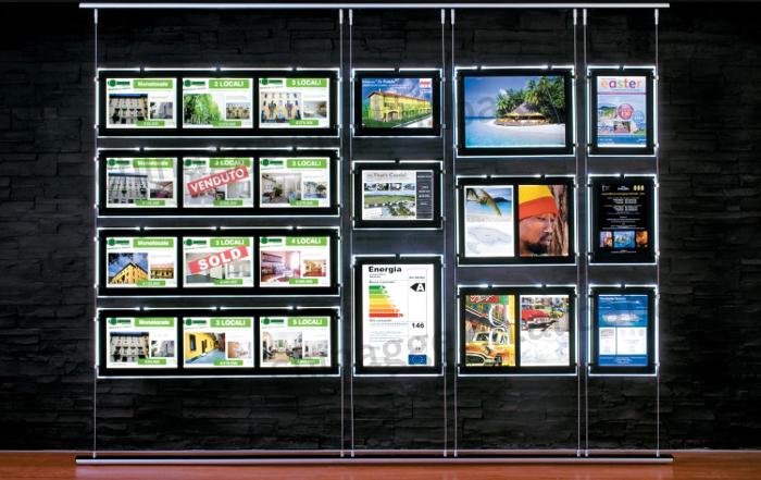 Lumi re connexion fen tre led poches affichage immobilier for Fenetre de connexion
