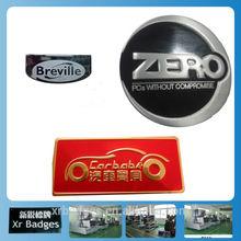 logotipo personalizado en un nombre de la placa 3d etiquetas