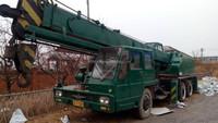 KATO NK160 16 ton used wheel crane lifting truck crane