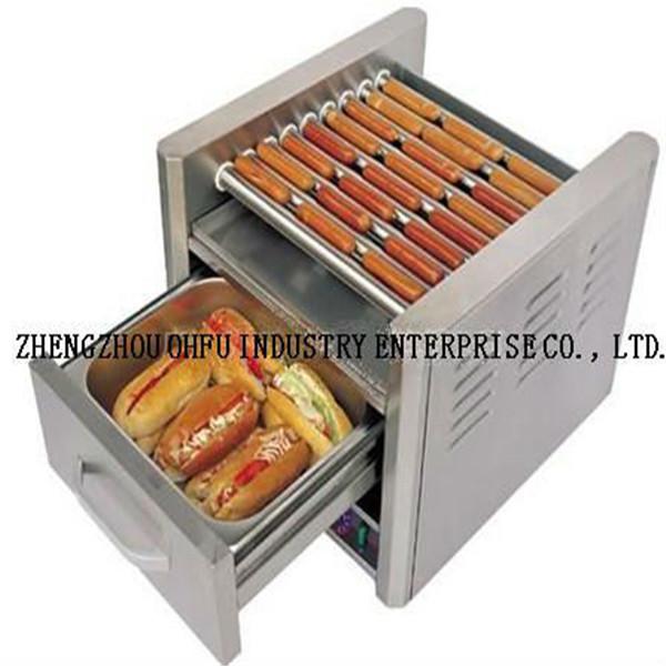 lectrique hot dog grille pain rouleau de hot dog. Black Bedroom Furniture Sets. Home Design Ideas