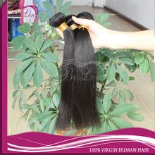 Aliexpress best quality wholesale Brazilian silky human virgin hair weft