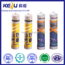 Double component compound silicone sealant, rubber surface non stick in hand