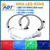 For BMW 7 Colors RGB LED Angel Eye Halo Rings For BMW E39 E46 3 5 7 Series Headlight