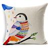 bird modern outdoor decorative couch pillows
