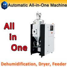 Deshumidificación, alimentador, plástico secador de todo-en-uno de la máquina